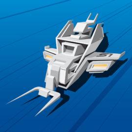 BlueTypeSpaceShip