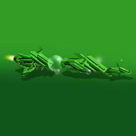 GreenTypeSpaceShip