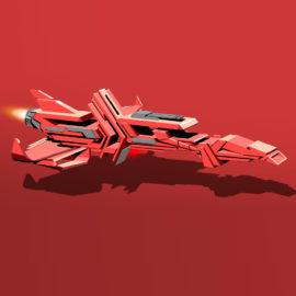 RedTypeSpaceShip