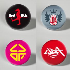 LJDA Buttons