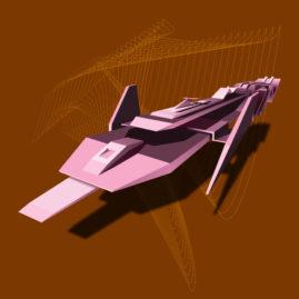 PinkTypeSpaceShip